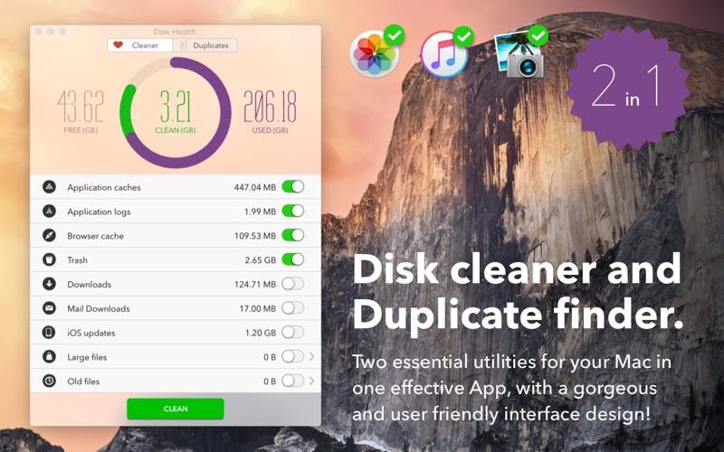 Disk Health Screenshot