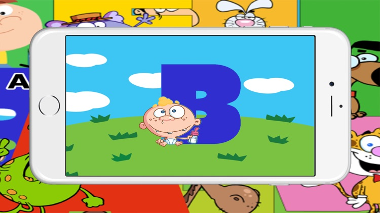 Abc Alphabet Puzzles Jigsaw Free Games For Kids screenshot-3