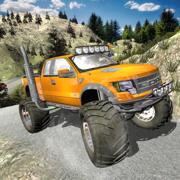 关闭道路重吉普车驾驶-驱动程序模拟器 3D