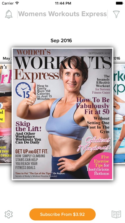 Women's Workout Express Magazine