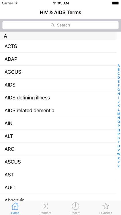 HIV & AIDS Terms - A Comprehensive Glossary