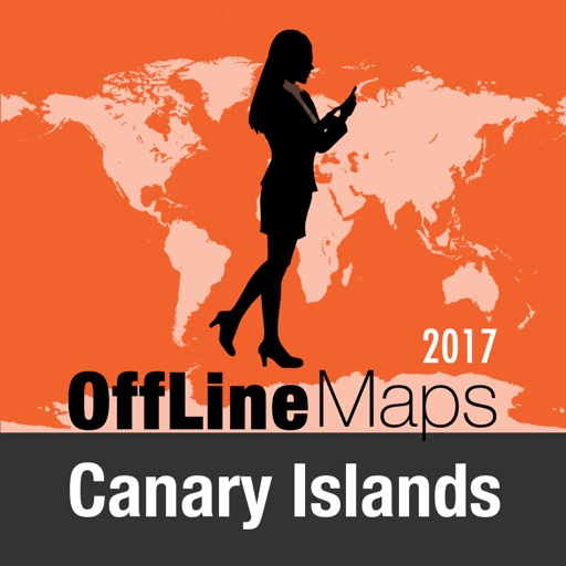 Canary Islands Offline Map and Travel Trip Guide