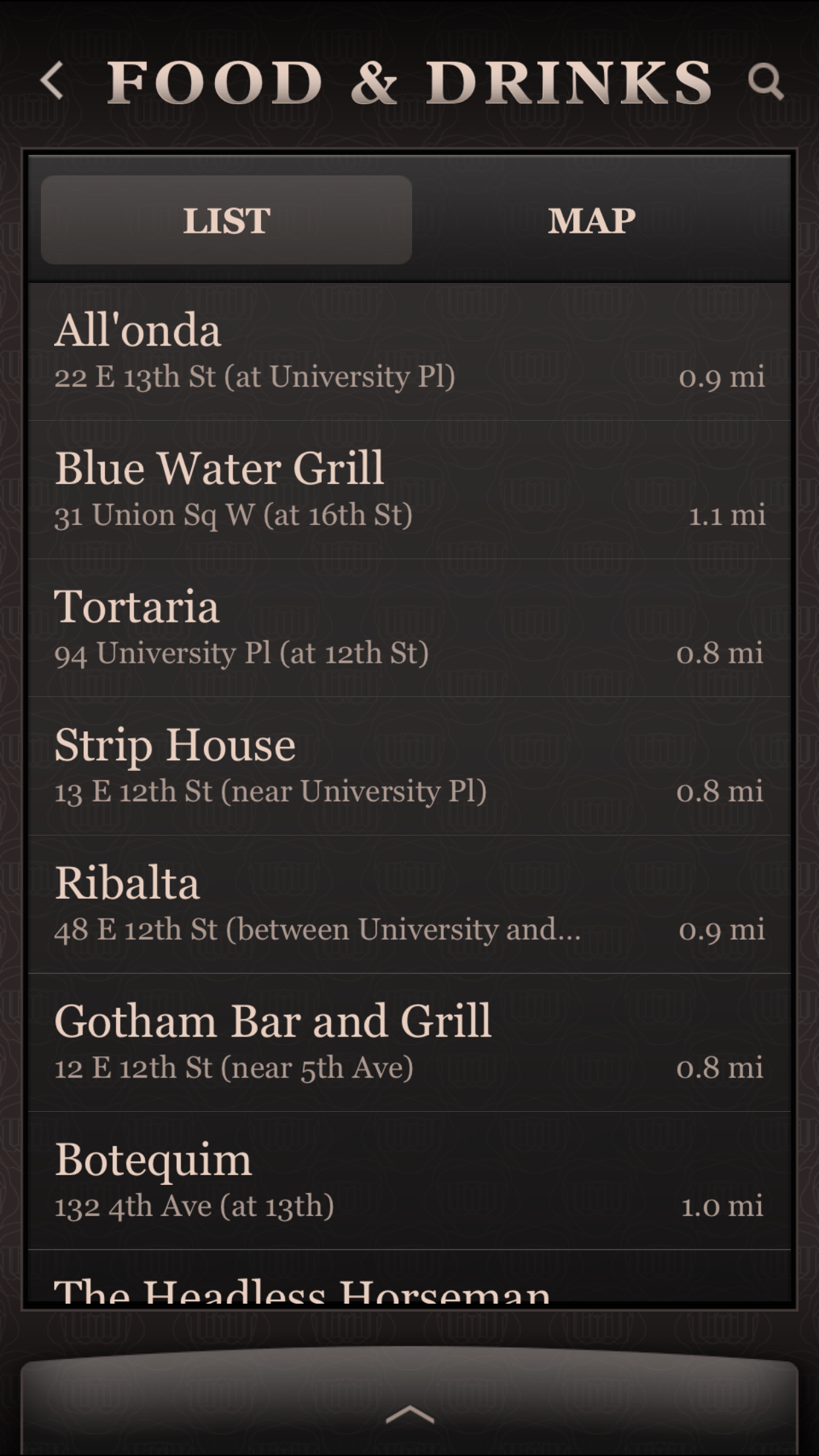 UrbanDaddy Screenshot