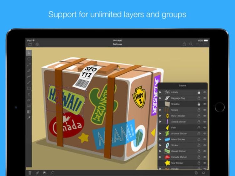 iDraw - Vector Design, Illustration & Graphic screenshot-4