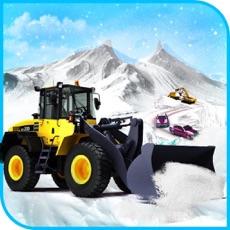 Activities of Snow Excavator Winter Rescue