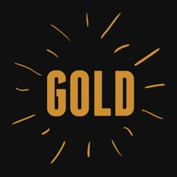 GOLd DOODLe Stickers for iMessage