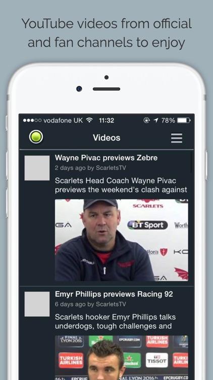 Scarlets Rugby screenshot-4