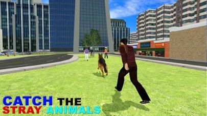 Animal Control Van Simulator & Truck Steering Game screenshot one