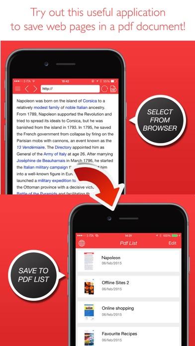 PDF Converter (sites to pdf ) Screenshots