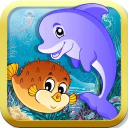 Ocean Puzzle for kids & toddlers (Premium)