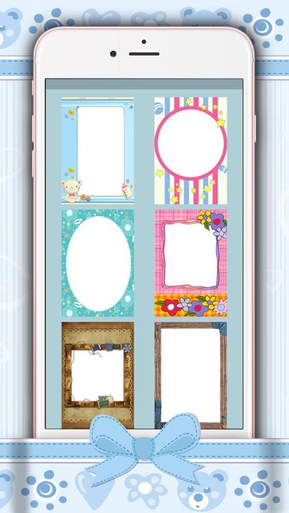 Cute Photo Frames For Kids - Baby Pic Editor Free screenshot-4