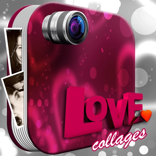Love Photo Collage Editor: Cute Pic Grid Templates