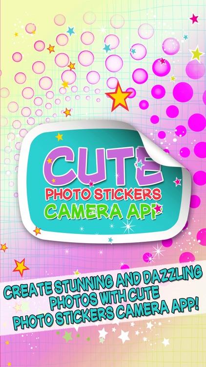 Cute Photo Stickers Camera App – Picture Editor