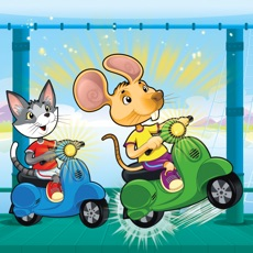 Activities of Mr Cat and Mouse Scooter Jump