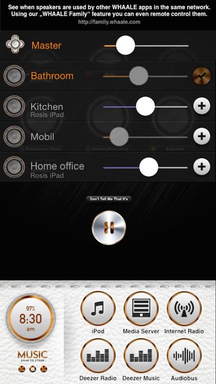 WHAALE Multiroom Player for AirPlay speakers screenshot-3