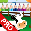 eralapps - Draw and Colour: The Farm PRO artwork