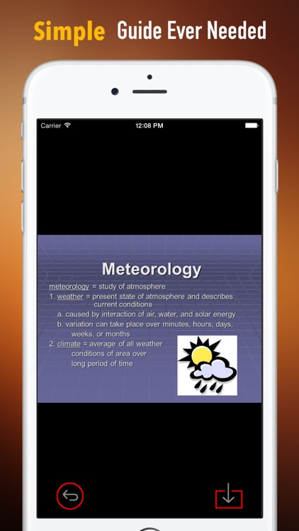 Meteorology Glossary: Cheatsheet with Study Guide