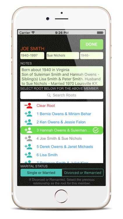 Family Tree App.