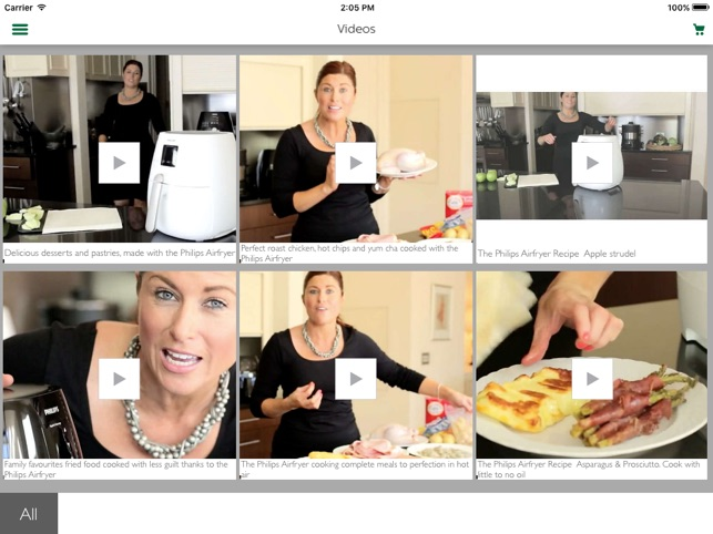 Philips Airfryer On The App