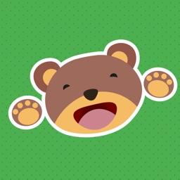 Kidi Animal Stickers for Kids