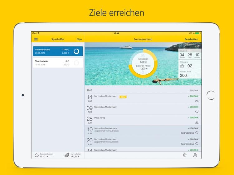 Postbank Finanzassistent iPad screenshot-4