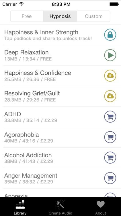 Free Hypnosis screenshot-3