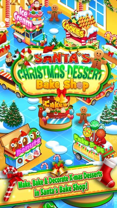 Christmas Dessert Santa Bake Shop Candy Maker Cook