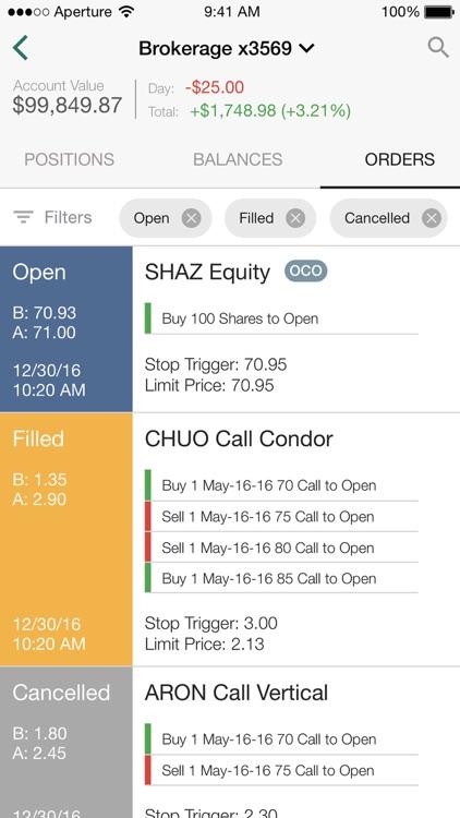 OptionsHouse Mobile screenshot-4