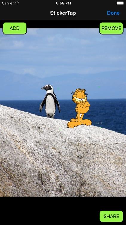 Garfield - StickerTap screenshot-4