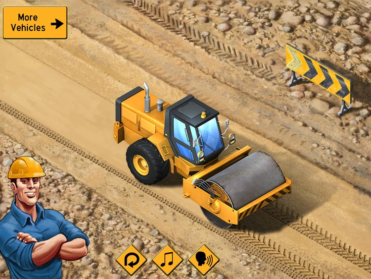 Kids Vehicles: Construction HD Lite for the iPad screenshot-0