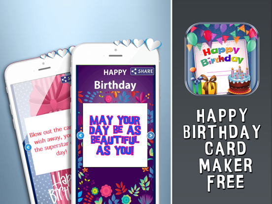 Screenshot 2 For Happy Birthday Card Maker Free Bday Greeting Cards