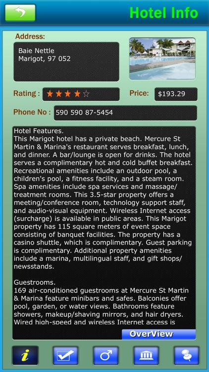 St Martin/Sint Maarten Offline Map Travel Guide screenshot-3