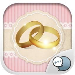 Wedding Emoji Stickers Keyboard Themes ChatStick