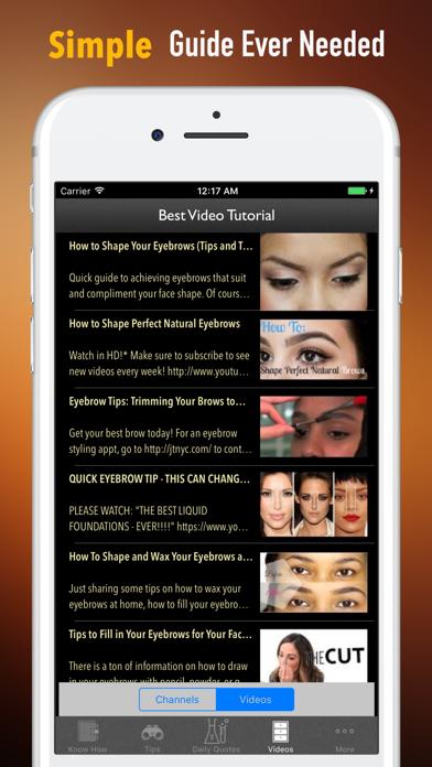 眉毛を整える方法 - 完璧な眉毛の形のおすすめ画像2