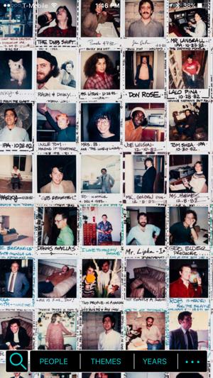 The Polaroid Wall Screenshot