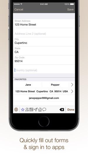 QuickKey Forms - Custom Keyboard Screenshot