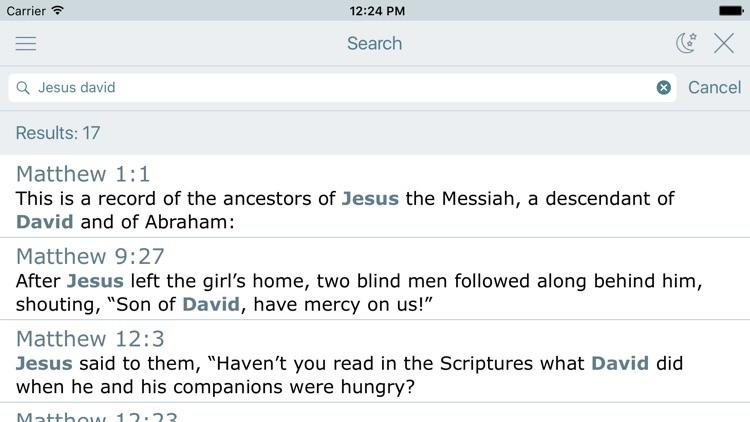 NLT Bible New Living Translation and Audio Version screenshot-3