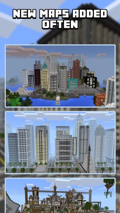 City Maps for Minecraft PE - Best Minecraft Maps by NuVex LLC (iOS ...