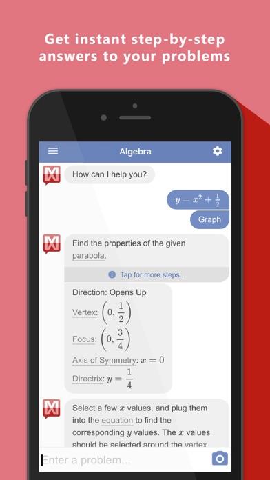Mathway - Math Problem Solver app image