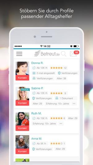 Betreut - Wir helfen Familien Screenshot