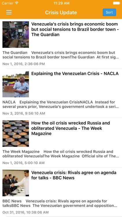Venezuela News Today & Caracas Radio Pro screenshot-3