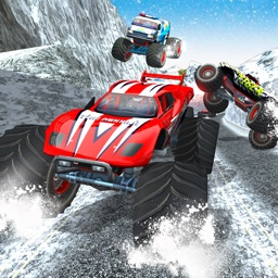 Winter Monster Truck Racing Rally 2017: Auto Race