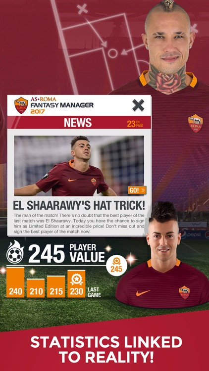 AS Roma Fantasy Manager 2017 - your football club screenshot-4