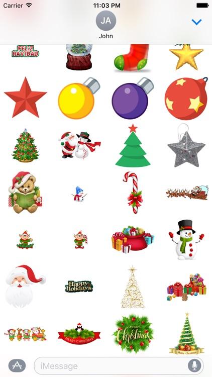 ChristmasGifs! 150+ Christmas Stickers screenshot-4