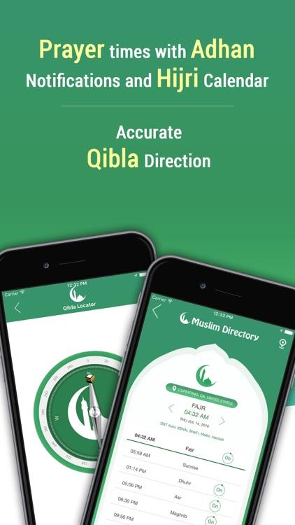 Muslim Directory: Azan Times, Mosque, Zabiha Halal