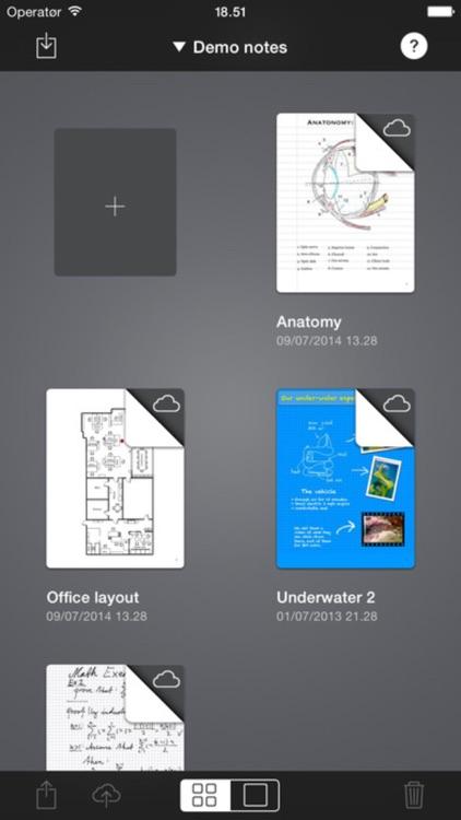 Pen & Notes - Handwriting, PDF Creator & Publisher screenshot-3