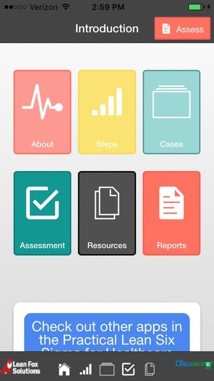 Healthcare Lean Organizational Assessment screenshot-0