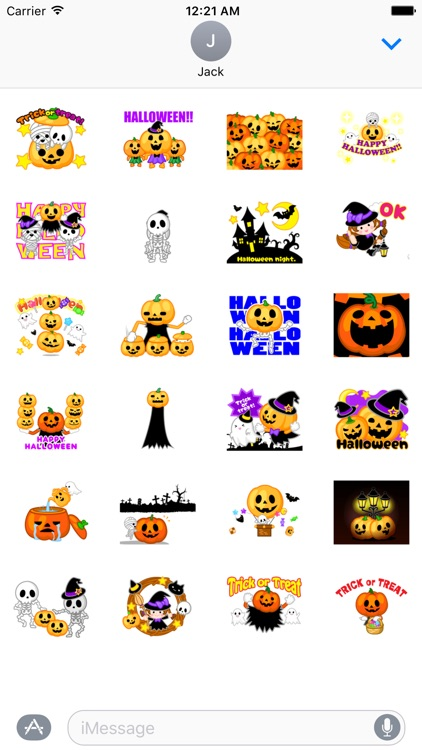 Halloween Scary Stickers for iMessage