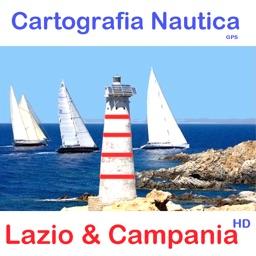 Marine : Lazio & Campania HD - GPS chart Navigator