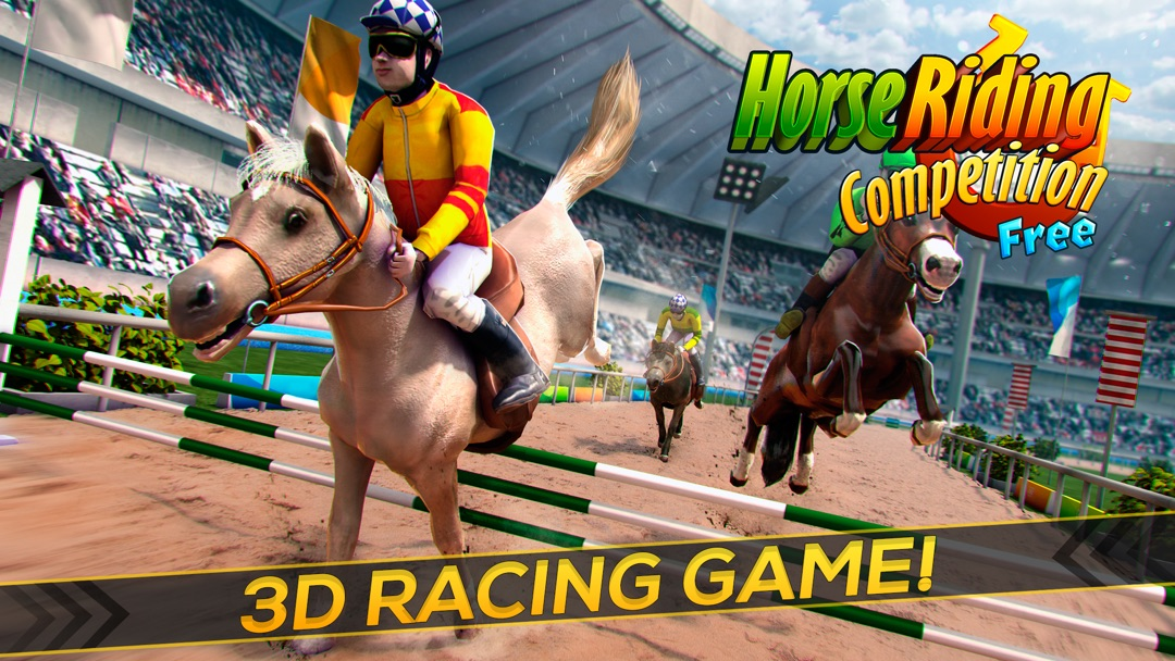 horse racing 3d game free download